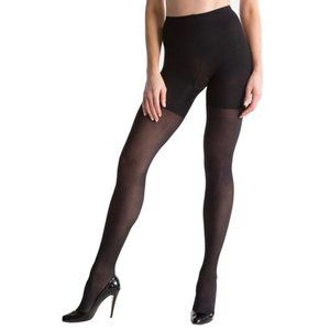 Spanx High Waist Ribbed All Day Shaping Tights 6/F